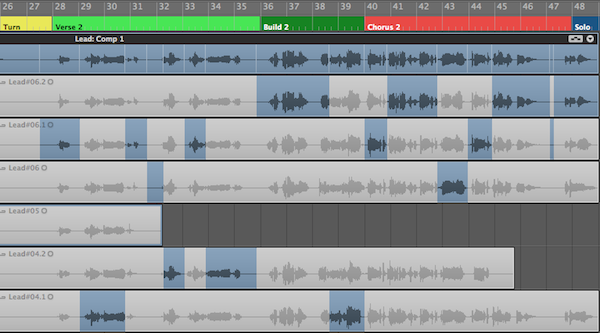 Vocal comping